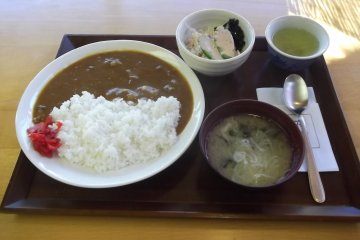 My curry rice lunch