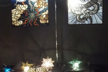 Lamps and glass craft