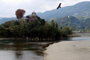 Majestic scene of the Hiji River