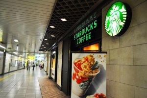 Starbucks in the station