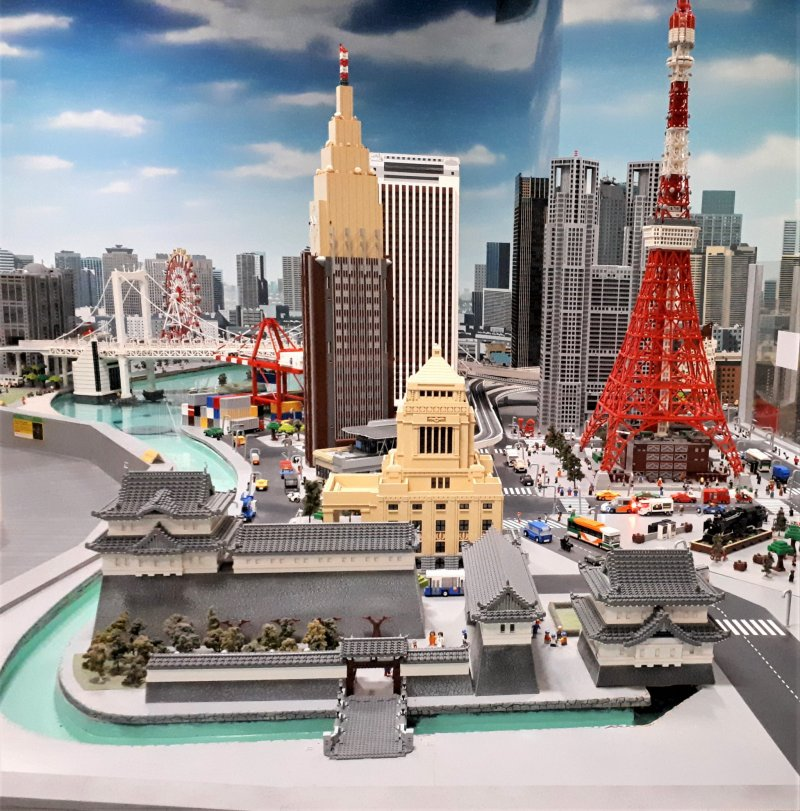 The Imperial Palace and Tokyo Tower