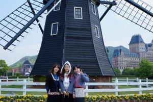 나가사키의 명소 하우스 텐보스!