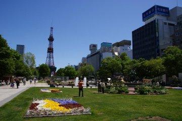 Visite de la Ville de Sapporo
