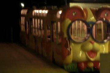 Ikoma cable car carriage, Torii Mae station
