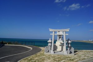 When arriving at the top of the hill where the hotel is located you will quickly be taken away by the beauty of the ocean surrounding Okinawa.