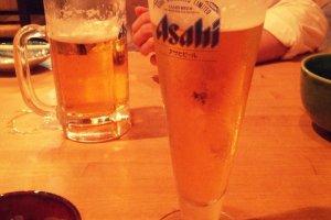 야키토리와 시원한 맥주 한잔~~~!!