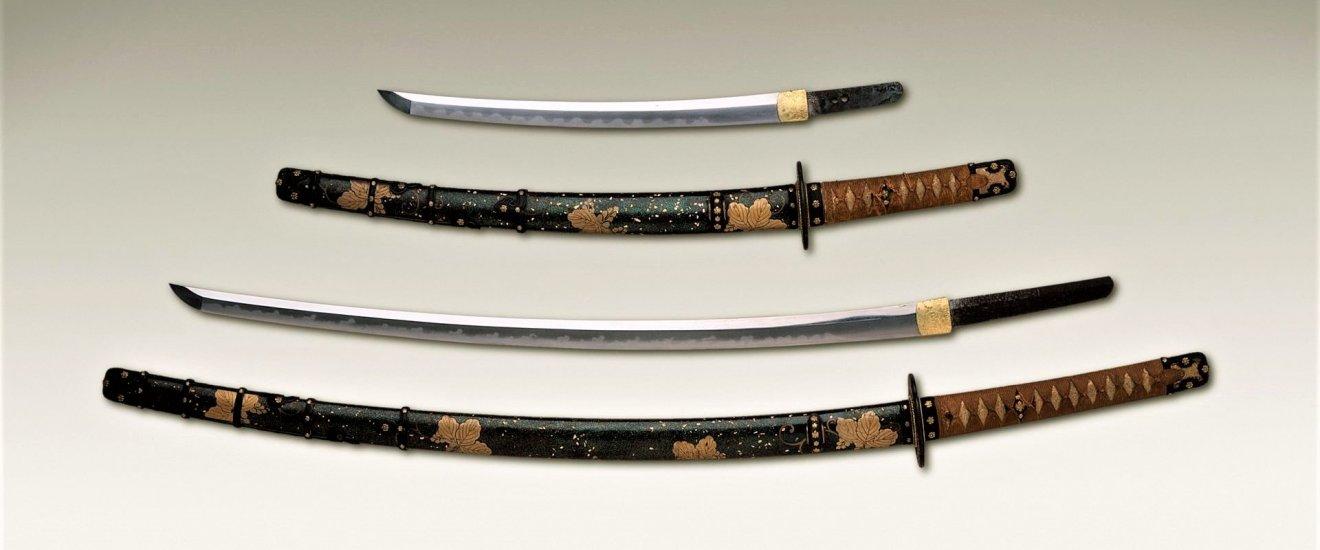 Long and short sword pair