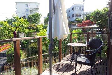 Anyone for tea on a garden patio?