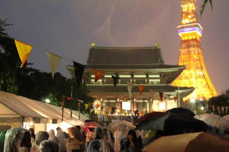 100万人烛光夜·增上寺
