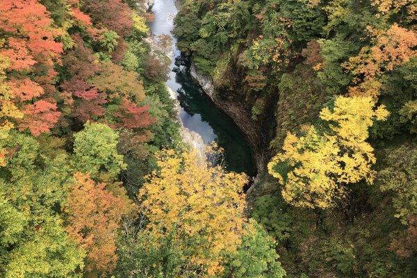 Les Gorges d'Oyasu