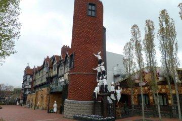 白色恋人公园城堡