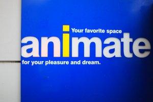 Animate–Otome Road's 8 floor cosplay-devoted store