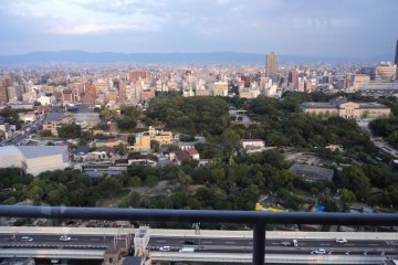 <p>The view from the Tower</p>