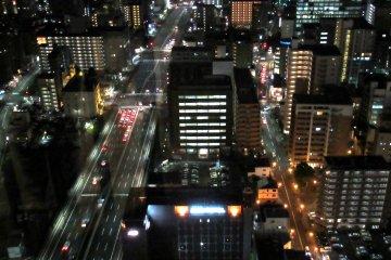 Ночные огни Сендая