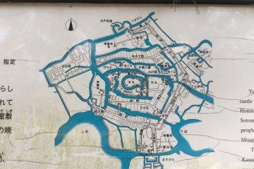 Обширная система рвов в Черепашьем замке
