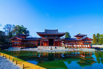 The Phoenix Hall of Byodoin in Uji