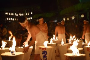 Urasa's Naked Pushing Festival is one of Japan's most unique events