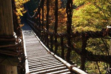 Iya Valley Gorge Vine Bridge