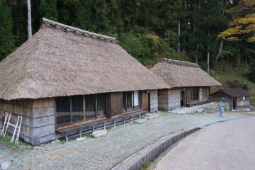 Iya Valley thatch-roofed housing