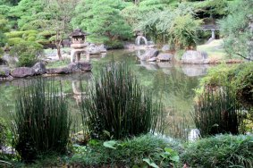 Сад храма Риннодзи в Сендае