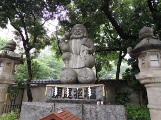 Daikoku, a god who brings good fortune