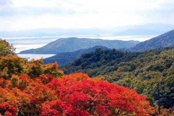 Beautiful view from Shodoshima