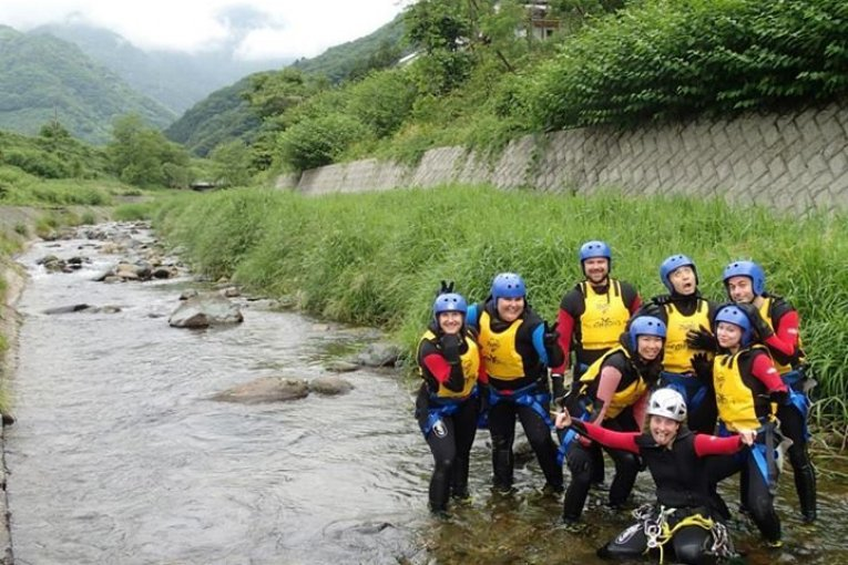 Minakami Canyoning and Rafting