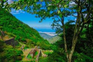 Besshi Mine Ruins Viewpoint