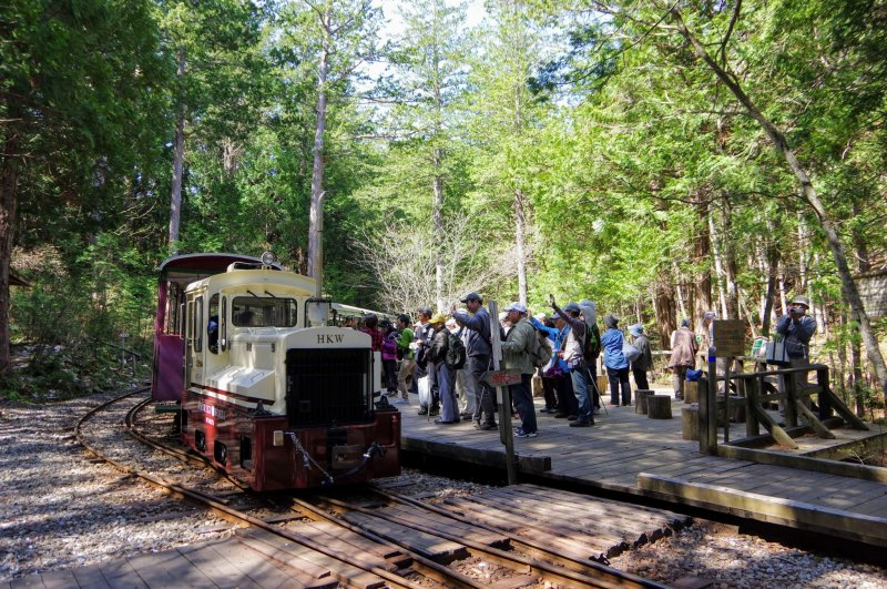 Akasawa Forest Railway