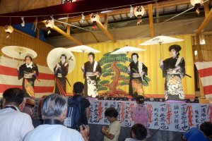 A festival at Omiya Shrine