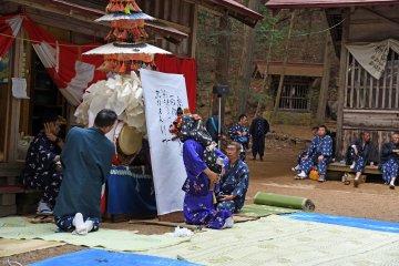 Kuzunoha at Ogawa Wakamiya Shrine