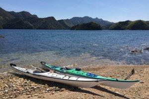 Un tour en kayak de mer