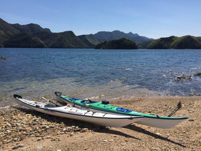 Sea kayak experience