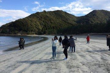 Headed to Hatouzu beach