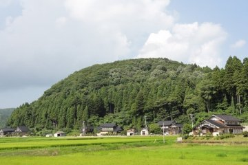 Photo of the World Agricultural Heritage area: Shunran Village