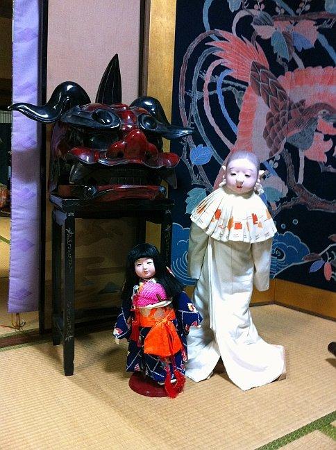 In the Mukashi no Kurashikan