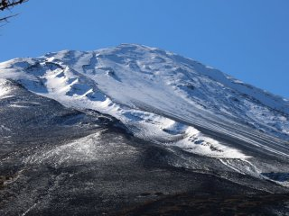 A closer look at the summit from stage 5