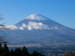 This great view point can be seen from Gotemba-Shi, which is near Mount Fuji