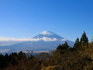 Another great view of Mount Fuji from nearby Gotemba-Shi
