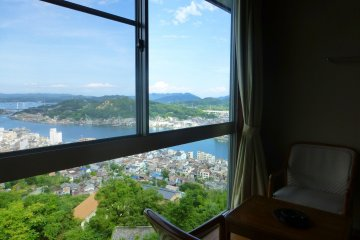 A beautiful vew over Onomichi
