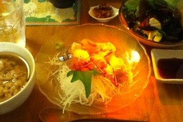 主食的魚料理