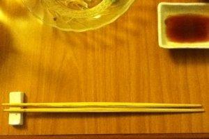 兩端都尖頭的筷子