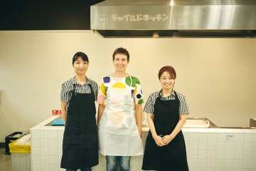 A helpful and friendly staff does help when making food from scratch!