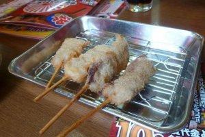 Kushi katsu- Fried skewers