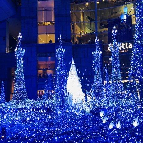 2018東京燈飾—Caretta汐留迪士尼主題燈光秀