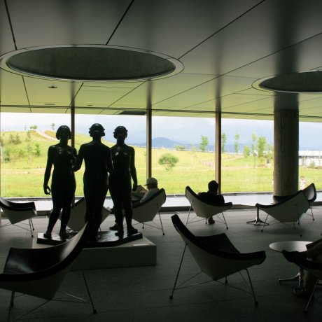 Inside the Iwate Museum of Art