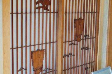 Yuuseimaru; old wood from original house