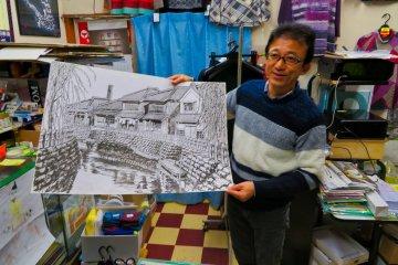 Art work by Masahiro Noguchi