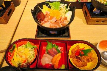 Hananomai Sumo Wrestler Meal