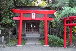The Gosho Inari Shrine
